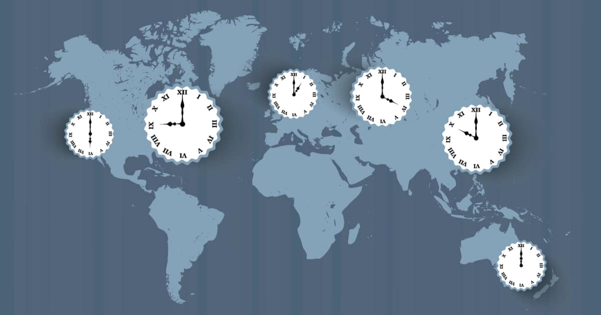 global-stock-market-hours-concept