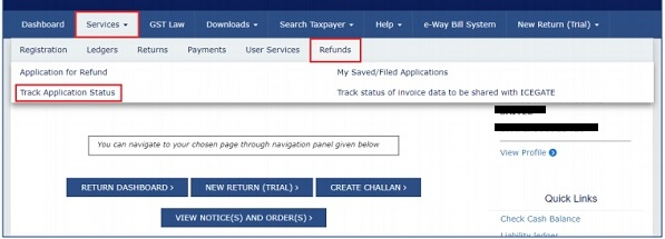 How to Track GST Refund on GST and PFMS Portal?