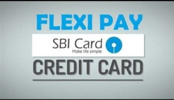 SBI Credit Card Payment to EMI